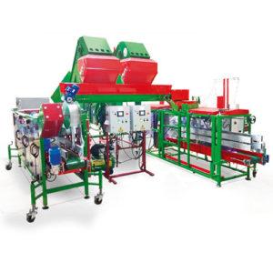 Автоматический комплекс (сетка + полиэтилен) ВСП-50-03 + МАУС-25 + МАУП-18