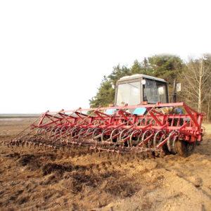 Культиватор для сплошной обработки почвы КНС-6,3 (КНС-4,0)